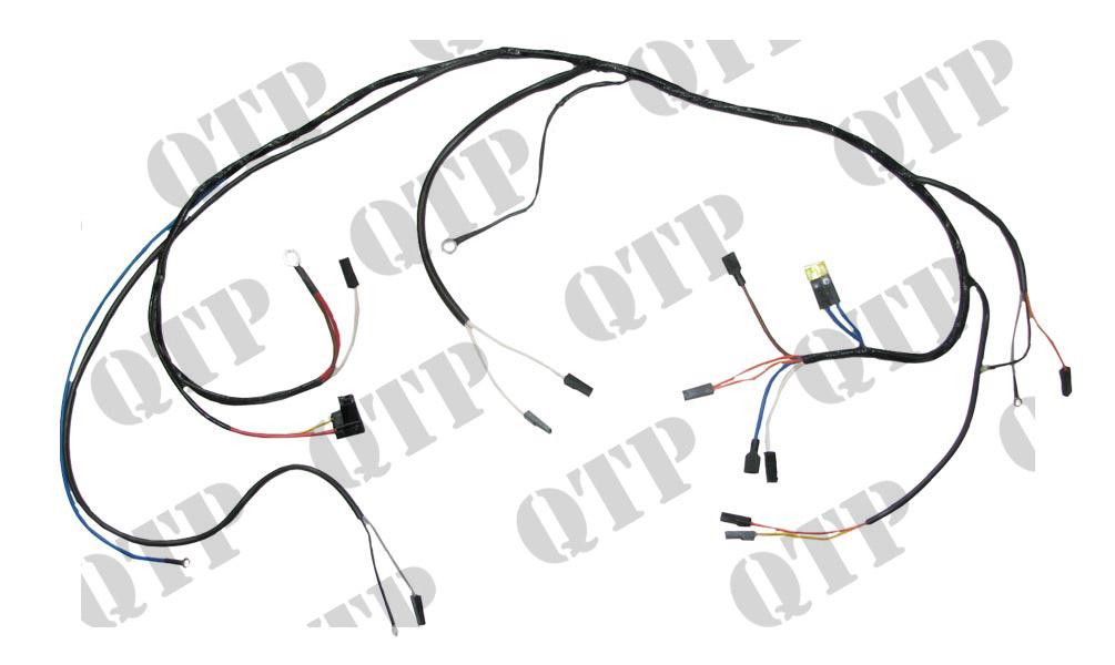 54956721 massey ferguson wiring loom 135 alternator type