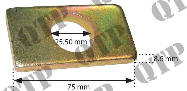 Part Number: 59822 Description: John Deere Fork Plate John Deere 76 77 7810 Bottom.